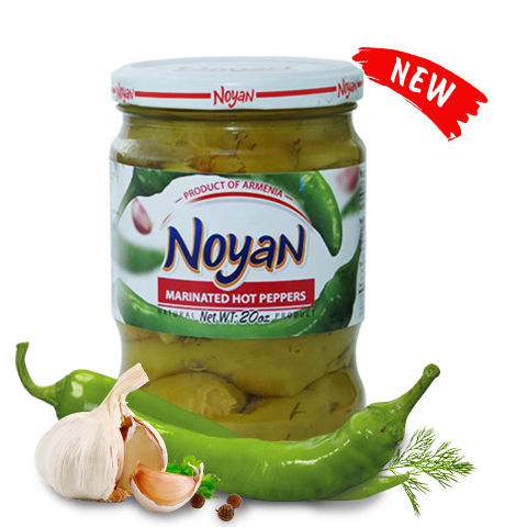 Marinated Hot Peppers Noyan 560г