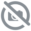 "Kokoshnik ""Beauty"", 22.5 cm, red-olive,children's kokoshnik"
